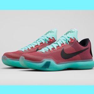 "EUC - Nike - Kobe 10 ""Easter"" Shoe - 6.5"